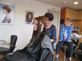 liza bij majo de bruijn haarverzorging